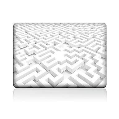 1 قطعة مقاومة الحك هندسي بلاستيك شفاف لاصق الجسم نموذج إلىMacBook Pro 15'' with Retina MacBook Pro 15'' MacBook Pro 13'' with Retina