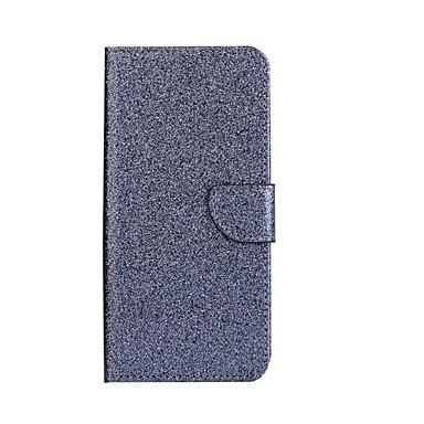 Varten Korttikotelo Tuella Flip Etui Kokonaan peittävä Etui Kiiltävä Kova Tekonahka varten HuaweiHuawei P9 Lite Huawei Honor 8 Huawei