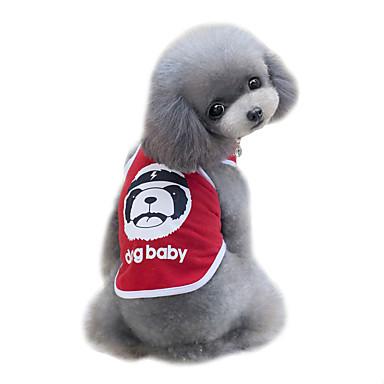Pies T-shirt Yelek Ubrania dla psów Urocza Modny Sportowe Niedźwiedź Black Czerwony Niebieski Kostium Dla zwierząt domowych