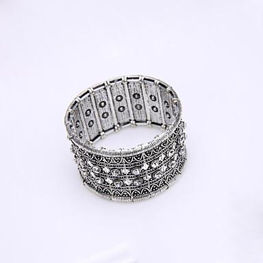 Βραχιόλια με Αλυσίδα & Κούμπωμα Βοημία Style Κράμα Κοσμήματα Ασημί Κοσμήματα Για Γάμου Πάρτι Γενέθλια Αρραβώνας 1pc