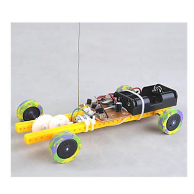 Leluautot Aurinkoenergialla toimivat lelut Radio-ohjattavat Lelut Auto Kauko-ohjain DIY Metalli Lasten Pieces