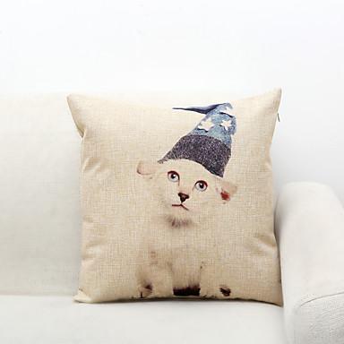 1 szt Poliester Pokrywa Pillow,Wzór zwierzęcy Inne