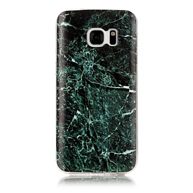 Kılıf Na Samsung Galaxy S7 edge S7 IMD Wzór Etui na tył Marmur Miękkie TPU na S7 edge S7 S6 edge S6 S5 S4 S3
