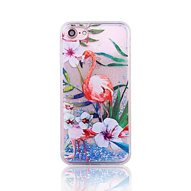 Için Temalı Pouzdro Arka Kılıf Pouzdro Hayvan Sert PC için Apple iPhone 7 Plus iPhone 7 iPhone 6s Plus/6 Plus iPhone 6s/6