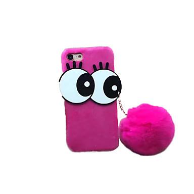 Etui Käyttötarkoitus Apple iPhone 7 Plus iPhone 7 DIY Takakuori Piirretty Kova tekstiili varten iPhone 7 Plus iPhone 7 iPhone 6s Plus