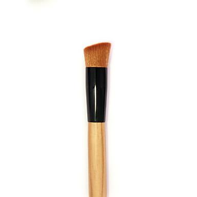 1 Contour Brush Perie Blush Perie Corector Perie Pudră Perie Fond Altă perie Păr sintetic Portabil Călătorie Ecologic Profesional Lemn