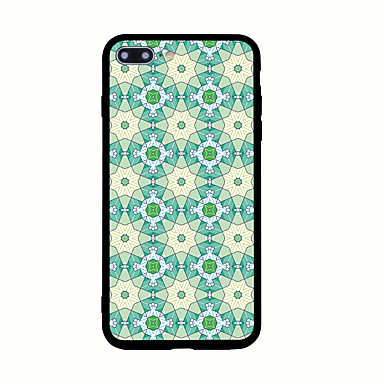 Na Wzór Kılıf Etui na tył Kılıf Geometryczny wzór Twarde Akrylowy na AppleiPhone 7 Plus iPhone 7 iPhone 6s Plus iPhone 6 Plus iPhone 6s