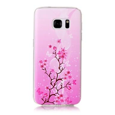 tok Για Samsung Galaxy S7 edge S7 Με σχέδια Πίσω Κάλυμμα Δέντρο Μαλακή TPU για S7 edge S7