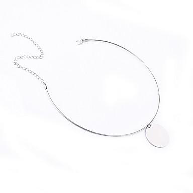 Gerdanlıklar Mücevher Circle Shape Mücevher Bakır Moda Kişiselleştirilmiş Euramerican minimalist tarzı Avrupa Mücevher Uyumluluk Günlük