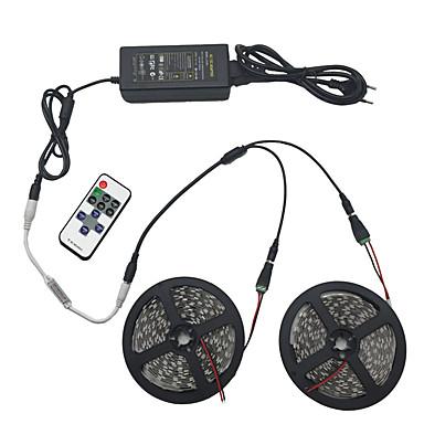 φως σύνολο 10m 5050 600 φως RGB IP44 11 βασικά υπέρυθρες υποδοχή 12v 6α δύναμη τηλεχειριστήριο