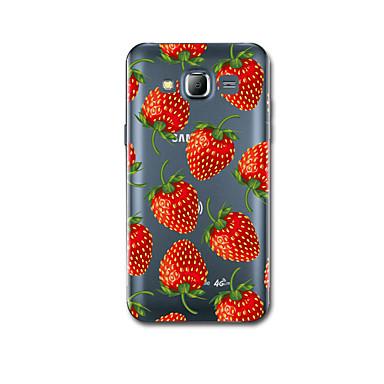 tok Για Samsung Galaxy J7 (2016) J5 (2016) Εξαιρετικά λεπτή Με σχέδια Πίσω Κάλυμμα Φρούτα Μαλακή TPU για J7 (2016) J5 (2016)