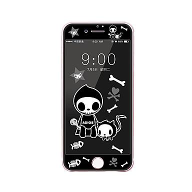 Apple iPhone 7 PLUS 5,5 calowym ekranem szkło hartowane osłoną z miękkiej krawędzi pełne pokrycie Ekran przedni ochraniacz kreskówki