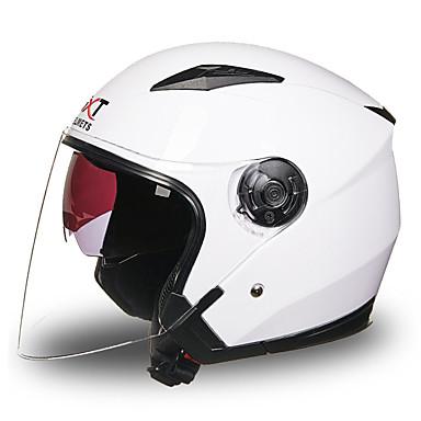 نصف خوذة ضد الضباب متنفس ABS الخوذ دراجة نارية