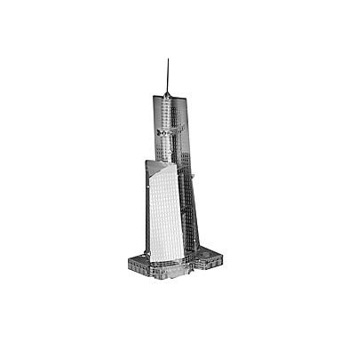 Puzzle 3D Puzzle Puzzle Metal Μοντέλα και κιτ δόμησης Jucarii Clădire celebru Arhitectură 3D Reparații MetalPistol Copii Bucăți