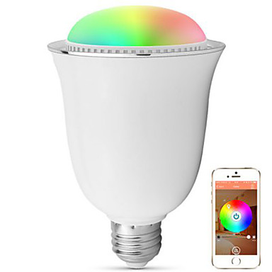 WirelessHlight H1002 Smart E27 / E26 Bulb Speaker Bluetooth 4.0 2 in 1 Stereo Lamp Remote Control / Timing / Energy Saving / Shaking /
