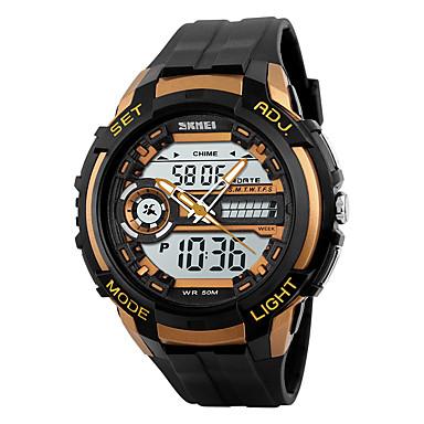 Bărbați Ceas digital Ceas de Mână Ceas Sport Piloane de Menținut Carnea Quartz Japonez Alarmă Calendar Rezistent la Apă LED Cronometru