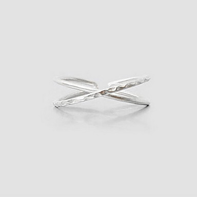 Kadın Yüzük Kişiselleştirilmiş Eşsiz Tasarım Moda minimalist tarzı Ayarlanabilir Açık alaşım Mücevher Uyumluluk Günlük