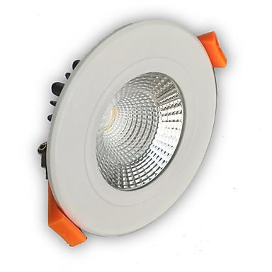 400-450 lm LED Χωνευτό Σποτ Χωνευτή εγκατάσταση leds COB Με ροοστάτη Θερμό Λευκό Ψυχρό Λευκό AC 110-130V AC 220-240V