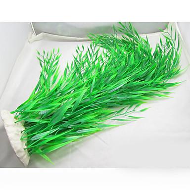 Akvaryum Dekorasyonu Su Bitkisi Plastik