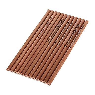 ξύλο μαύρο μολύβια HB μελάνι 1 σετ των 12 τεμ