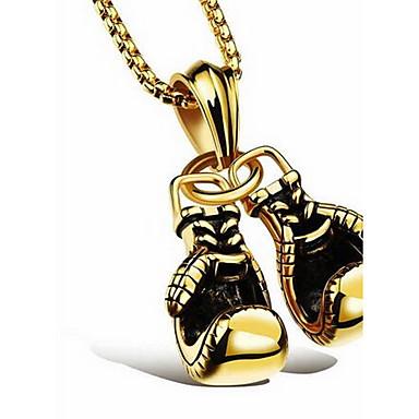 للرجال نساء قلائد الحلي الصلب التيتانيوم تصميم بسيط موضة شخصية مجوهرات من أجل يوميا فضفاض