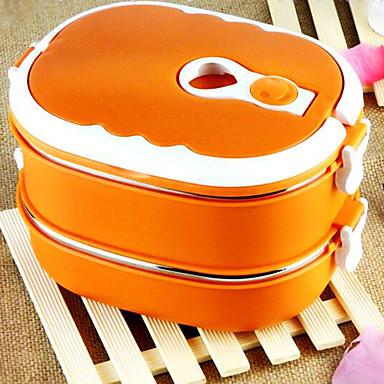 Ανοξείδωτο ατσάλι Υψηλή ποιότητα Κουτιά Κολατσιού Quadrate Οργάνωση κουζίνας