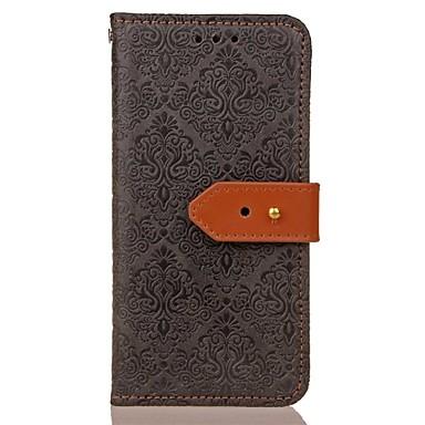 Maska Pentru Samsung Galaxy S8 Plus S8 Portofel Titluar Card Cu Stand Embosat Model Magnetic Corp Plin Culoare solidă Greu PU Piele pentru