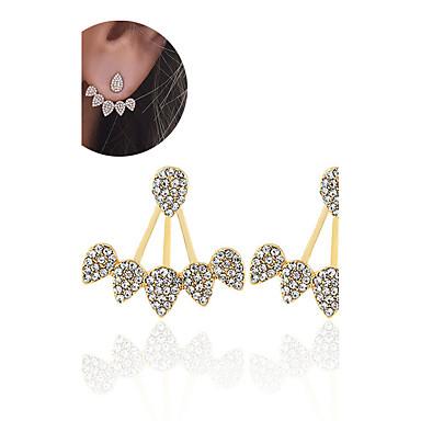 Damskie Kolczyki na sztyft Rhinestone Unikalny Cyrkon Kropla Biżuteria Na Ślub Impreza Specjalne okazje Urodziny Zaręczynowy Codzienny
