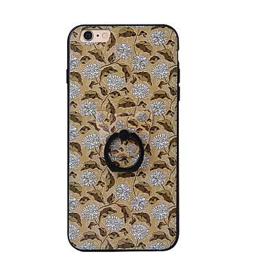 Na Uchwyt pierścieniowy Kılıf Etui na tył Kılıf Kwiat Twarde PC na AppleiPhone 7 Plus iPhone 7 iPhone 6s Plus iPhone 6 Plus iPhone 6s