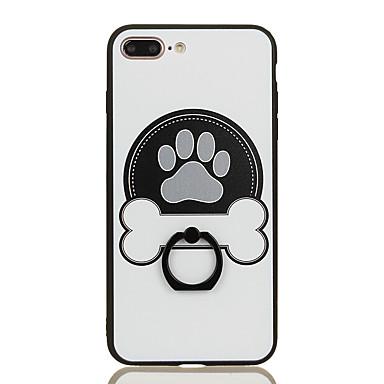 Varten Sormuksen pidike Kuvio Etui Takakuori Etui Piirros Kova PC varten Apple iPhone 7 Plus iPhone 7