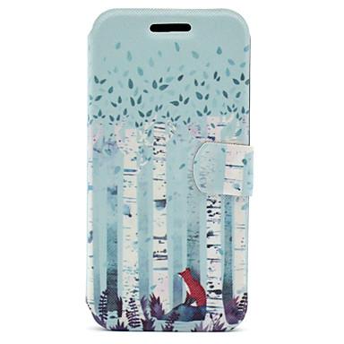 tok Για Samsung Galaxy A5(2017) A3(2017) Θήκη καρτών με βάση στήριξης Ανοιγόμενη Μαγνητική Με σχέδια Πλήρης Θήκη Ζώο Σκληρή PU δέρμα για