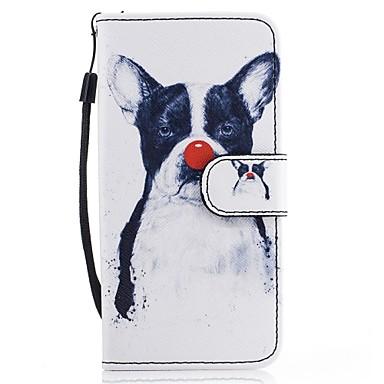 غطاء من أجل Samsung Galaxy A5(2017) A3(2017) محفظة حامل البطاقات مع حامل قلب نموذج كامل الجسم كلب قاسي جلد اصطناعي إلى A3 (2017) A5