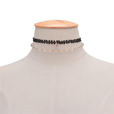 Damskie Inne Spersonalizowane Unikalny Podwójna warstwa euroamerykańskiej minimalistyczny styl Modny Paciorki Europejski Wielowarstwowy