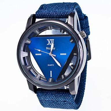 levne Pánské-Pánské Dámské Náramkové hodinky Křemenný Černá / Modrá / Červená Hodinky na běžné nošení Analogové Módní Elegantní - Zelená Modrá Růžová