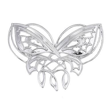 Γυναικεία Καρφίτσες Κοσμήματα Μοναδικό Λογότυπο Multi-τρόπους Wear Euramerican Πεπαλαιωμένο Κράμα Animal Shape Κοσμήματα Για Ειδική