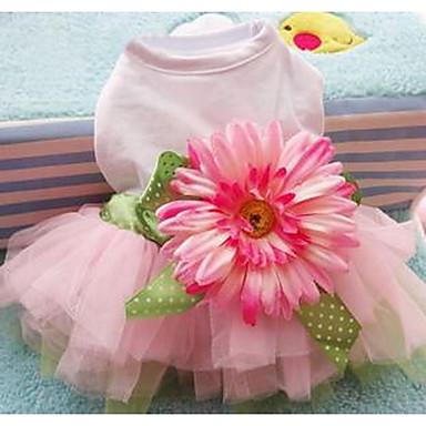 Câine Rochii Îmbrăcăminte Câini Draguț Casul/Zilnic Prințesă Roz