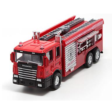 Παιχνίδια αυτοκίνητα Χυτοπρεσαριστά οχήματα Οχήματα οπίσθιας έλξης Πυροσβεστικό όχημα Παιχνίδια Πυροσβεστικά Μεταλλικό Κράμα Πλαστική ύλη