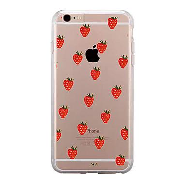 Uyumluluk iPhone X iPhone 8 iPhone 8 Plus Kılıflar Kapaklar Şeffaf Temalı Arka Kılıf Pouzdro Meyve Yumuşak TPU için Apple iPhone X iPhone