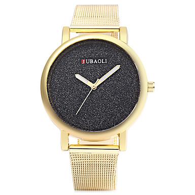 JUBAOLI Γυναικεία Μοδάτο Ρολόι Καθημερινό Ρολόι Χαλαζίας κράμα Μπάντα Χρυσό