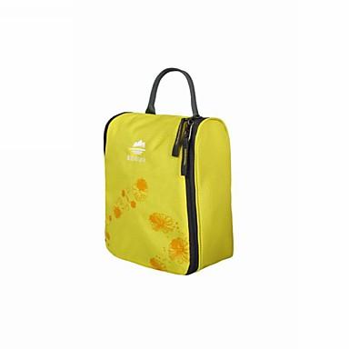 حقيبة السفر حقيبة أدوات تجميل للسفر حقيبة مستحضرات التجميل منظم أغراض السفر المحمول تخزين السفر ضغط إلى ملابس نايلون / للرجال للمرأة
