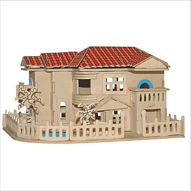Zestaw DIY Zabawki 3D Puzzle Zabawki Kwadrat Znane budynki Chińska architektura Dom Męskie Damskie DZIECIĘCE Nie określony Dla par Dla