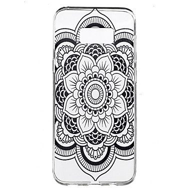 Varten Läpinäkyvä Kuvio Etui Takakuori Etui Mandala Pehmeä TPU varten Samsung S8 S8 Plus S7 edge S7 S6 edge plus S6 edge S6 S4 Mini S4