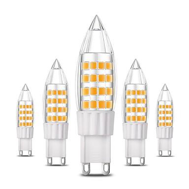 6 τεμάχια 4w e14 g9 g4 οδήγησε φώτα bi-pin t 44 smd 2835 360 lm ζεστό λευκό δροσερό λευκό ac 220-240 v