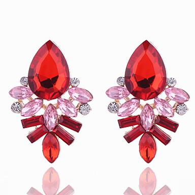 Damskie Kolczyki na sztyft Kryształ Geometryczny biżuteria kostiumowa Kryształ Stop Geometric Shape Biżuteria Na Impreza Codzienny Casual