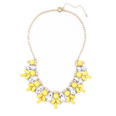 للمرأة فروع القلائد Flower Shape تصميم فريد مجوهرات من أجل حزب مناسبة خاصة عيد ميلاد
