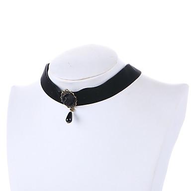 Damskie Naszyjniki choker Pearl imitacja Żywica Osobiste euroamerykańskiej minimalistyczny styl Biżuteria Na Ślub Impreza