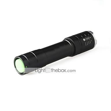 U'King LED Fenerler LED lm 3 Kip LED Zoomable Ayarlanabilir Fokus Kompakt Boyut Kamp/Yürüyüş/Mağaracılık Günlük Kullanım Bisiklete