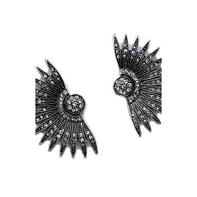Naisten Niittikorvakorut - Geometrinen / Vintage / Muoti Musta korvakorut Käyttötarkoitus Päivittäin / Kausaliteetti