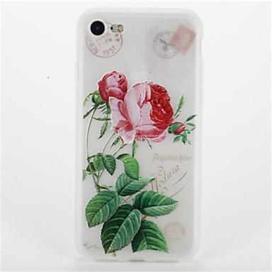 Için Temalı Pouzdro Arka Kılıf Pouzdro Çiçek Yumuşak TPU için Apple iPhone 7 Plus iPhone 7 iPhone 6s Plus iPhone 6 Plus iPhone 6s iphone 6