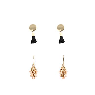 Γυναικεία Σετ Κοσμημάτων Κρεμαστά Σκουλαρίκια Μοντέρνα Euramerican Νάιλον Κράμα Κοσμήματα Κοσμήματα Για Γάμου Πάρτι Καθημερινά Causal